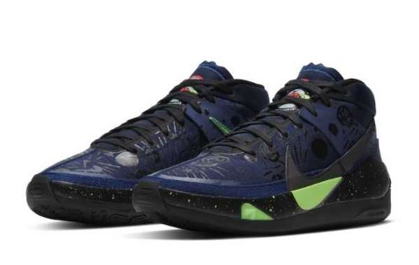 "2020 Nike KD 13 ""The Planet of Hoops"" CI9948-400"